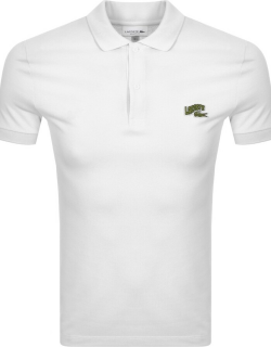 Lacoste Short Sleeved Polo T Shirt White