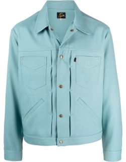 Needles fitted shirt jacket