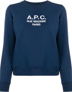 A.P.C. logo knitted top