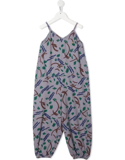 Bobo Choses strokes-print tapered jumpsuit