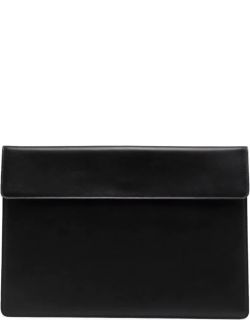 Common Projects logo-print clutch