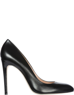 Women's leather pumps court shoes high heel titty