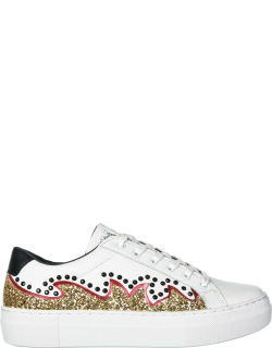 Women's shoes leather trainers sneakers victoria circus