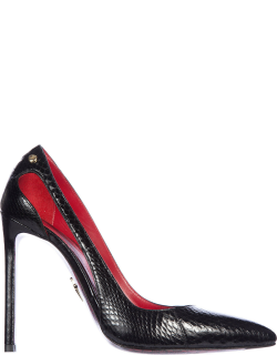 Women's leather pumps court shoes high heel'ayer