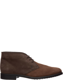 Men's leather desert boots lace up ankle boots