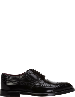 Men's classic leather lace up laced formal shoes derby brogue