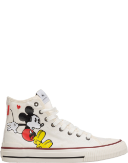 Women's shoes high top trainers sneakers disney mickey mouse