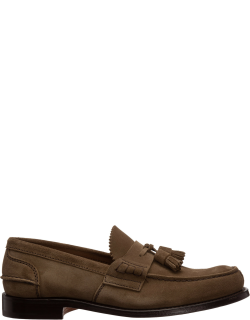 Men's leather loafers moccasins tiverton