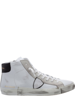 Men's shoes high top leather trainers sneakers prsx