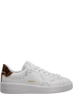 Women's shoes leather trainers sneakers pure