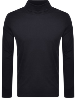 PS By Paul Smith Roll Neck Long Sleeve TShirt Navy