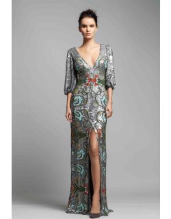Gemy Maalouf Embellished Evening Gown