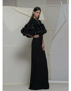 Isabel Sanchis Albosaggia Fitted Gown