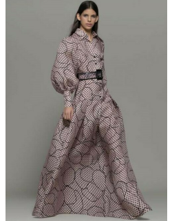 Isabel Sanchis Aprigliano Long Sleeve Shirt Gown