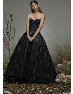 Isabel Sanchis Baragiano Strapless Gown