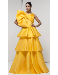 Isabel Sanchis Strapless Mooresboro Gown