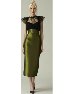 Nardos Lace Blouse and Pencil Skirt