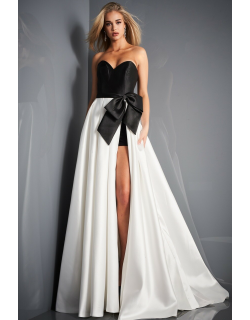 Jovani Sweetheart Neck Evening Gown