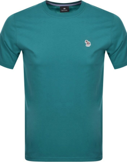 PS By Paul Smith Regular Fit T Shirt Green