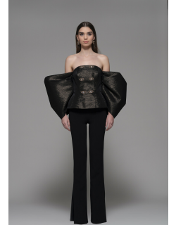 Isabel Sanchis Feisoglio Off Shoulder Top and Pant