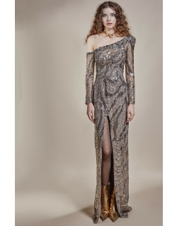 Gemy Maalouf Fully Sequined Gown