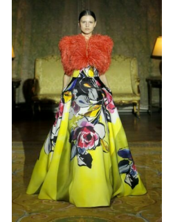 Isabel Sanchis Borutta Feathered Gown