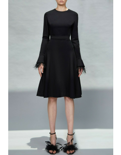 Elie Saab Jersey Top and Skirt