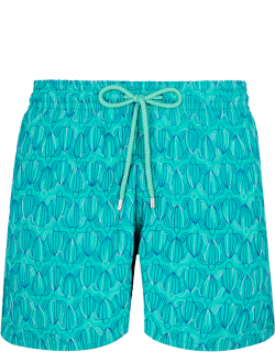 Men Swim Trunks Embroidered Armor Turtles - Limited Edition - Swimwear - Mistral - Green
