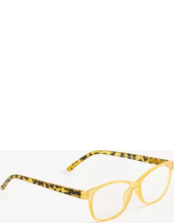 Ann Taylor Spotted Arm Square Reading Glasses