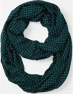LOFT Dotted Infinity Scarf