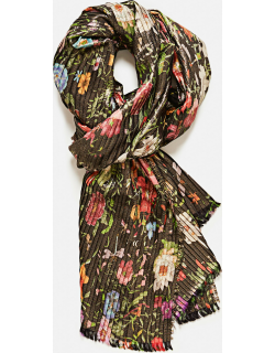 Gucci Silk Scarf With Floral Print