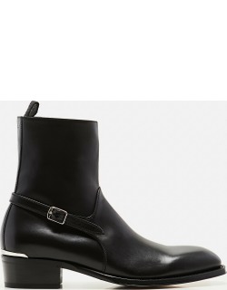 Alexander McQueen Ankle boots with strap
