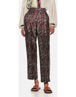 Golden Goose Sally paisley jacquard trousers