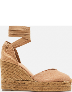 Castaner Chiara canvas espadrille with wedge of 11cm