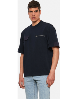 Sacai Cotton T-shirt with chest pockets