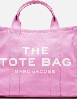 Marc Jacobs SMALL TRAVELER COTTON CANVAS TOTE BAG