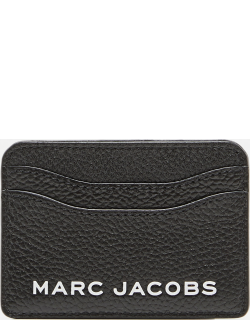 Marc Jacobs BOLD PEBBLED LEATHER CARD HOLDER
