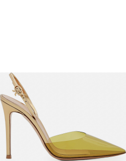 Gianvito Rossi Ribbon D-Orsay pointed toe pumps