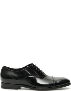 HENDERSON OXFORD SHOES 39 Black Leather