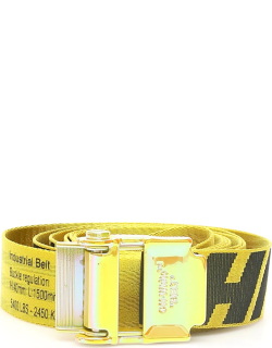 OFF-WHITE 2.0 INDUSTRIAL BELT OS Yellow, Black