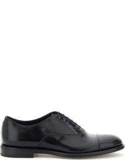 HENDERSON OXFORD LACE-UP SHOES 41 Black Leather