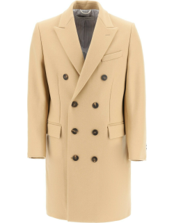GOLDEN GOOSE AIACE DOUBLE-BREASTED COAT 48 Beige