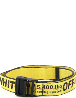 OFF-WHITE INDUSTRIAL BELT OS Yellow, Black, Red