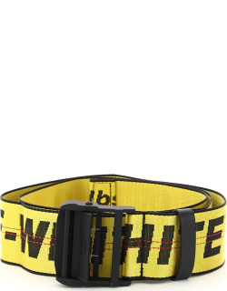 OFF-WHITE TRAVEL CABIN LUGGAGE BELT OS Yellow, Black, Red