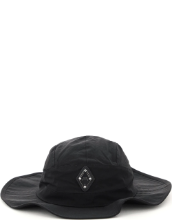 A COLD WALL WORKING BUCKET HAT RHOMBUS LOGO OS Black Technical