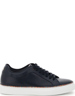 PAUL SMITH BASSO SNEAKERS WITH PIPING 6 Leather