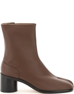 MAISON MARGIELA TABI ANKLE BOOTS 60 39 Brown Leather