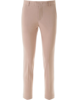 RED VALENTINO SLIM TROUSERS 42 Beige, Pink