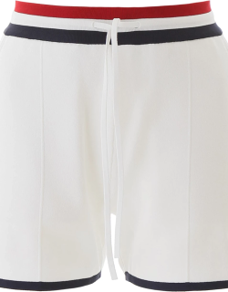 THOM BROWNE JERSEY SHORTS 40 White