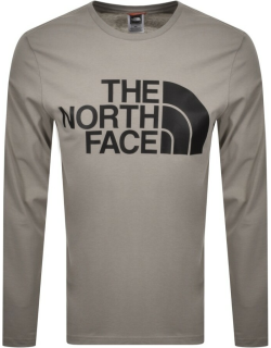 The North Face Standard Long Sleeve T Shirt Grey